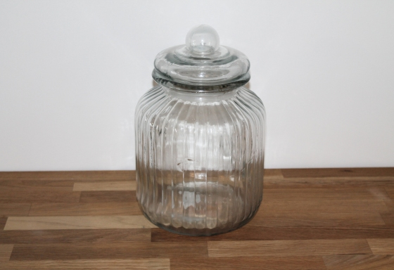 Extra Large ribbed top jar