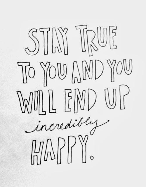 STAY TRUE TO YOUTWO