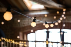 Festoon lights for hire - Photograph by Katherine Ashdown