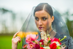 Midnight Luxe shoot at Sedgeford Hall