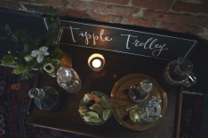 Tipple trolley package for hire from The Little Lending Company.