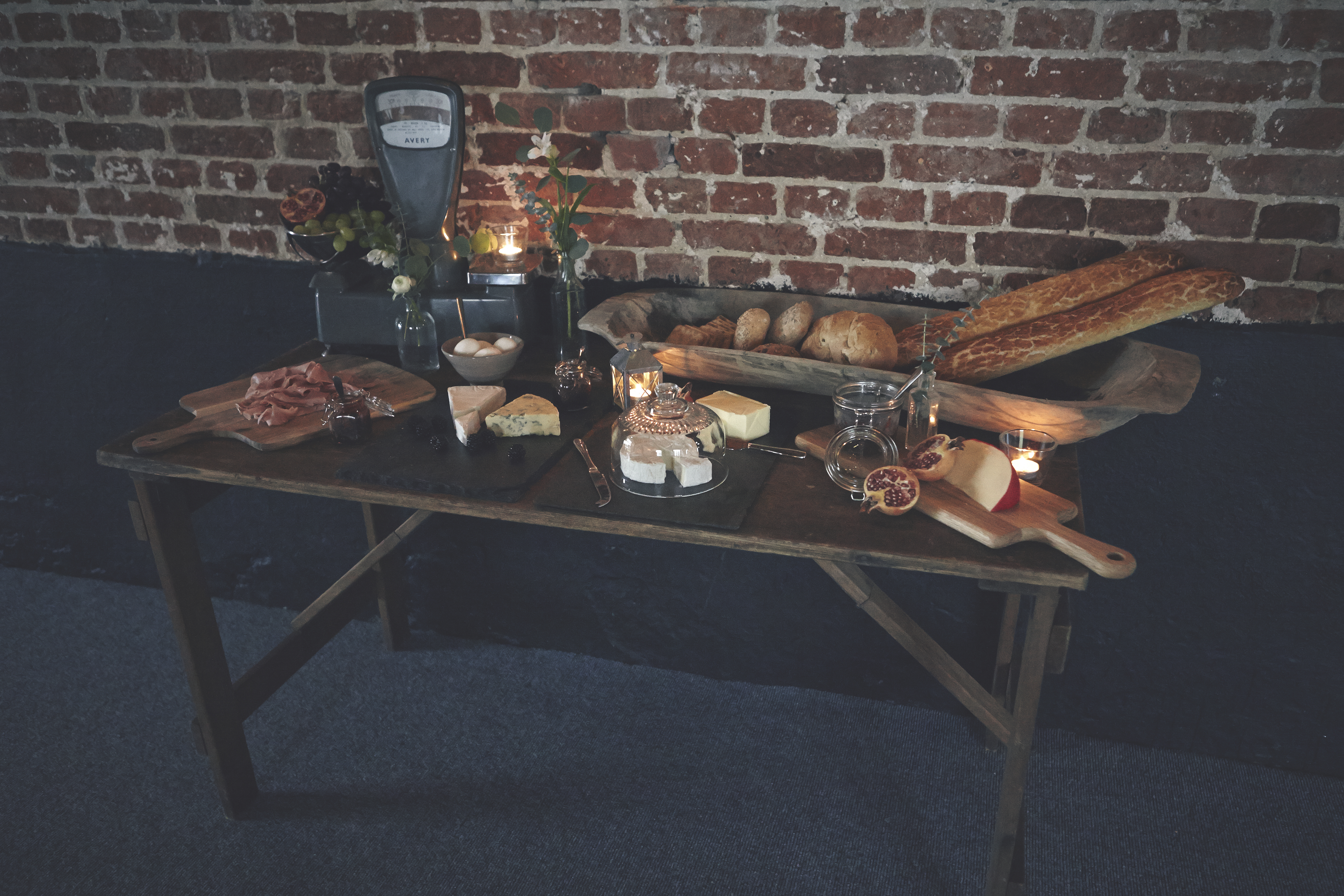Grazing station for hire by The Little Lending Company