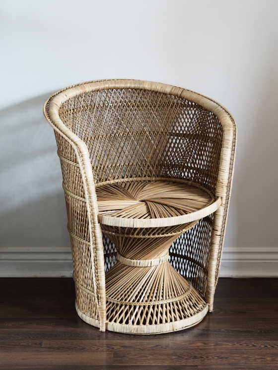 wicker tub chairs