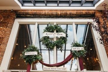 Luxe Bohemian Godwick Barn wedding - Images Beth Moseley